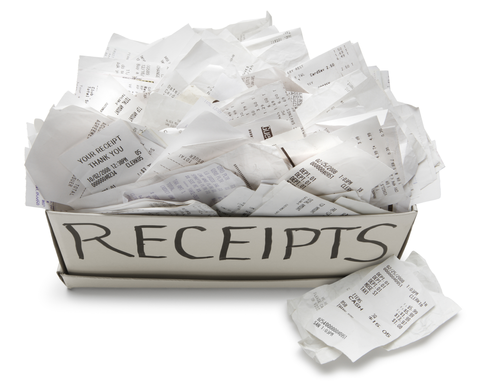 No More Business Receipts!